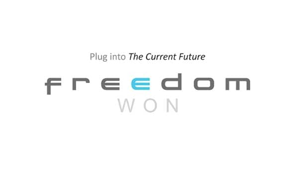 FreedomWon Logo